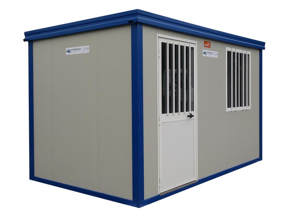 Wastafel 1 Meter : Werfcontainer meter met toilet wastafel intermat