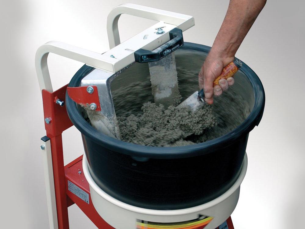Mengmachine Iperbet Met 2 Kuipen 45 Liter Intermat
