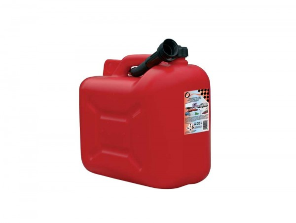 jerrycan pvc rood - 10 l